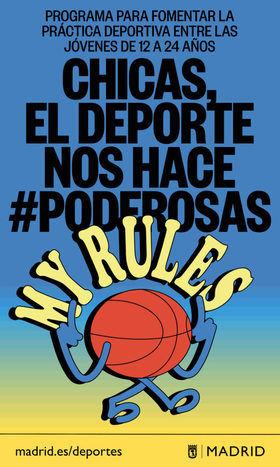 Arranca la segunda edición de #Poderosas, programa que motiva a las niñas a practicar deporte