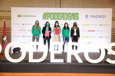 Más de 5.000 niños y niñas de diez institutos ubicados en cinco distritos de Madrid participarán en charlas protagonizadas por deportistas colaboradoras de Iberdrola.