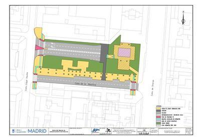 Las obras incluyen la mejora y renovación de la señalización y el mobiliario urbano del ámbito y la instalación de una nueva área infantil y un circuito biosaludable.