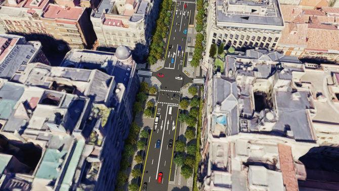 Los trabajos se ejecutarán en el tramo de casi 700 metros comprendido entre el paseo de la Castellana y la plaza del Marqués de Salamanca. El proyecto supondrá una importante mejora de la movilidad peatonal, la accesibilidad, la calidad ambiental y el paisaje urbano.