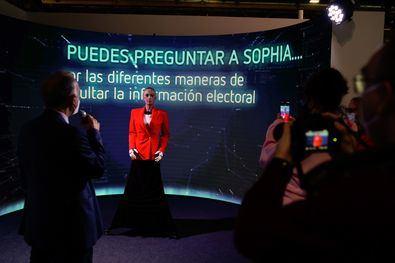 Sophia, IA para el proceso electoral del 4M