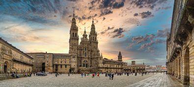 La previsión turística para Santiago de Compostela es también pesimista para este primer semestre a pesar del Xacobeo, aunque confían en recuperar cierta normalidad a partir del verano.