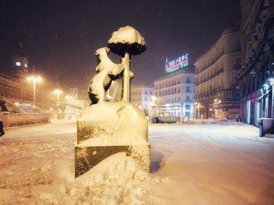 Y tras la nieve, llega el frío polar