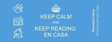 Yo me quedo en casa... leyendo