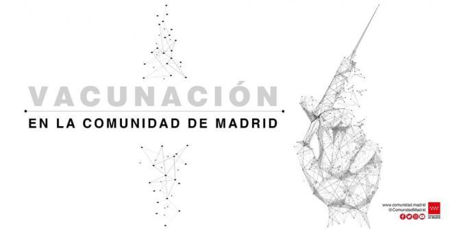 La Comunidad de Madrid extiende la vacunación frente al COVID19 a población menor de 60 años