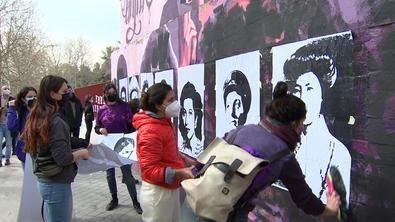 Martínez-Almeida ha condenado el ataque al mural feminista de Ciudad Lineal, que ha asegurado que será reparado y devuelto a su estado original.