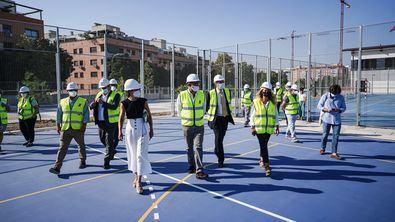 Se trata de unas obras que van a dotar al centro de ocho nuevas aulas, entre las que también se encuentran talleres de tecnología y laboratorio, así como un gimnasio y una pista deportiva.