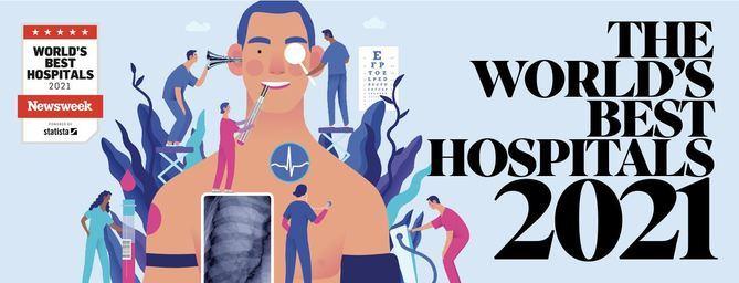 12 hospitales de Quirónsalud, entre los mejores de España según el World's Best Hospitals 2021 de la revista 'Newsweek'