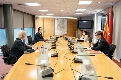 Reunión del Grupo Covid el pasado 21 de septiembre