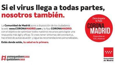 La app regional sobre el coronavirus