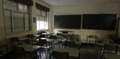 Esta aula es una ruina