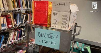 Un millar de libros para los pacientes de Ifema