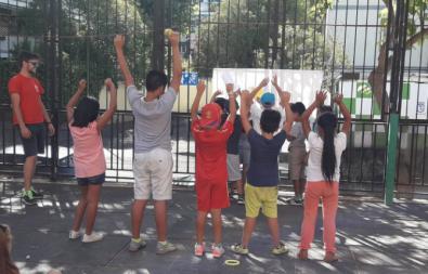 La Junta de Ciudad Lineal organiza campamentos urbanos en dos colegios del distrito.