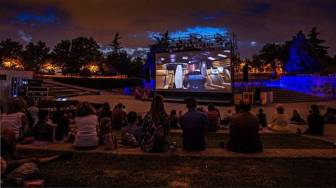 El auditorio del Tierno Galván acoge la vuelta de la pantalla grande este verano