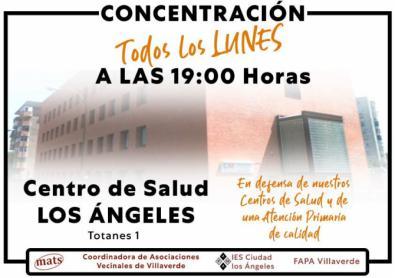 Centros de salud: siguen las concentraciones