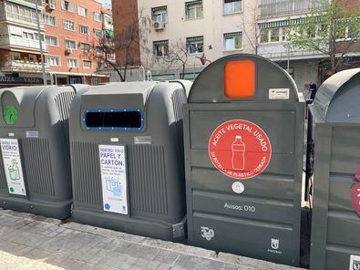 Hasta ahora no existían depósitos exclusivos para este residuo en vía pública, pero sí en puntos limpios y mercadillos.