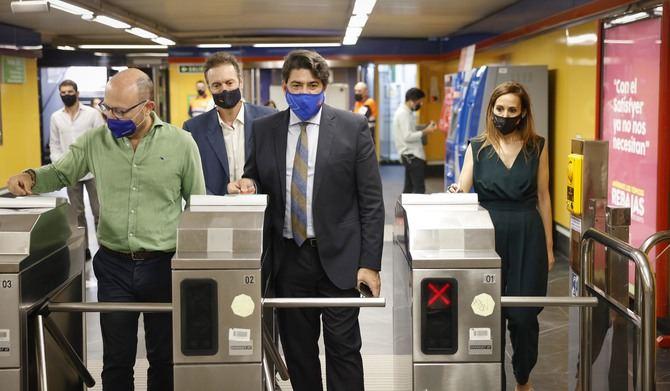 La nueva estación de Metro de Príncipe de Vergara ya es plenamente accesible, tras instalarse seis ascensores