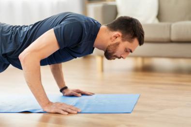 Cuerpo 'fit' y en forma, desde casa