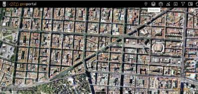 Imagen del Geoportal del Ayuntamiento de Madrid