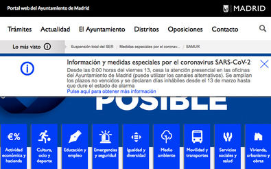 Madrid Emprende, a través de Línea Madrid, explicará desde la próxima semana cómo realizar los trámites de las distintas administraciones.