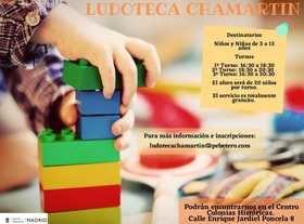 Vuelve a funcionar la ludoteca municipal del distrito de Chamartín