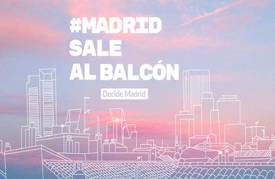 Madrid sale al balcón de la solidaridad