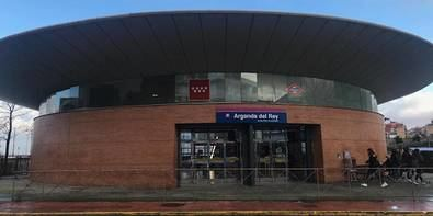 Cierra por obras el metro entre Arganda y La Poveda