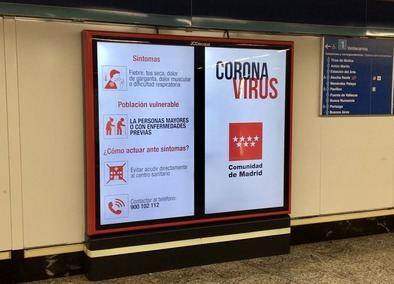 Si el desplazamiento es inevitable, se aconseja a las personas mayores y a quienes padecen alguna enfermedad que eviten, por motivos de salud, utilizar el Metro y el transporte público en general.