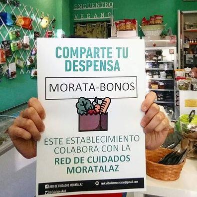 Los 'moratabonos' ayudan tanto a familias necesitadas como a los comercios de Moratalaz