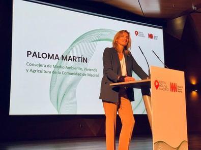 La consejera Paloma Martín ha reclamado al Gobierno central que apruebe cuanto antes el Real Decreto que regula la tramitación de estas ayudas.