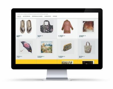 Complementos, reproducciones, libros, las 600 referencias de la Tienda Prado estarán disponibles también en Amazon.