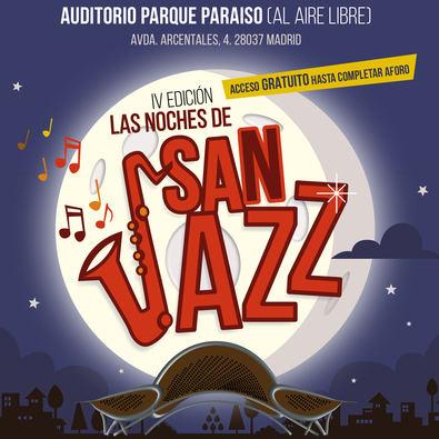 Noches de San Jazz en el Parque Paraíso