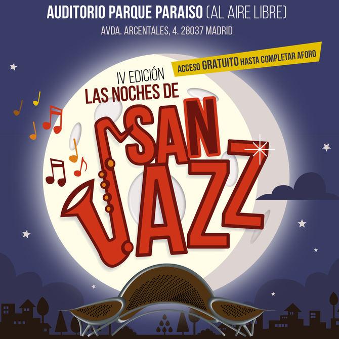 Cuarta edición del festival de jazz de San Blas, en el Parque Paraíso